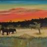 teun-van-der-spank-olifanten-in-landschap