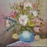 Cees van Barschot  Paletmes impressie olieverf