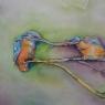 Erna Eilers IJsvogeltjes aquarel
