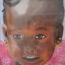 Mieke Maassen Kindje uit Mali pastel
