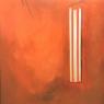 Nico Jorissen Compositie in rood acryl