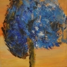 Ria Lagerberg Phantasy Tree acryl met paletmes