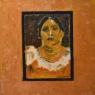 Caroline van Gils Portret acryl