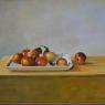Els Rijnvis Appels op schaal olieverf