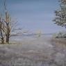 Frans de Kok Winterlandschap olieverf