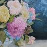 John Sanders Bloemen acryl