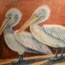 Maria Gooskens Pelikanen gemengde techniek