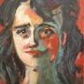Maria van Dijk Portret acryl