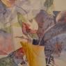 Marjan Mouton Bloemen aquarel